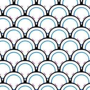 Rings - Neon Blue