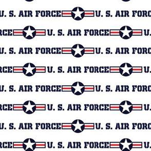 US Air Force stripe