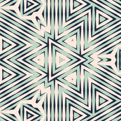 Retro Bashful Geometric