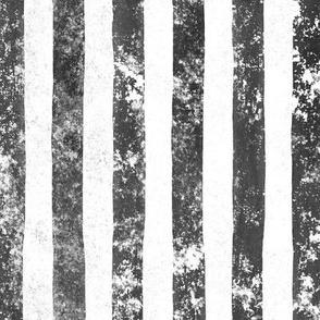 Verticle Stripes black grunge distressed verticle