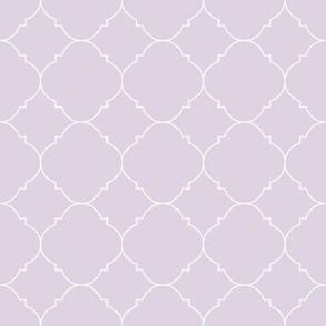 Geometric / Lavender