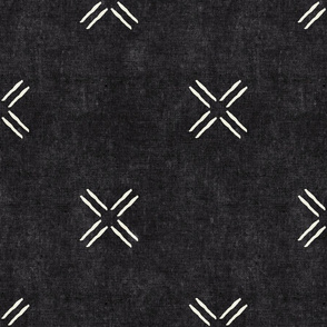 cross - onyx - mud cloth inspired home decor tribal wallpaper  - LAD19