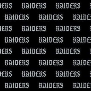 raiders  fabrics - raiders fabric - pablo font
