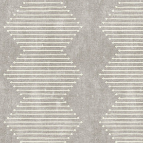 mud cloth - diamond - stone - mud cloth inspired home decor wallpaper - LAD19