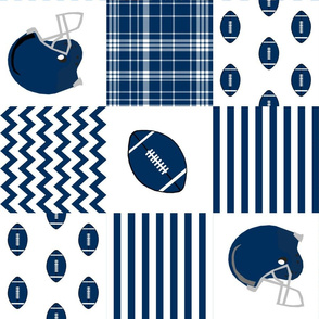 """brigham young quilt fabric - 6"""" squares - byu quilt, cheater quilt fabric, patchwork fabric, college fabric"""