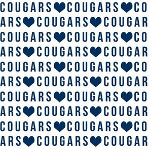 cougars fabric - college sports fabric