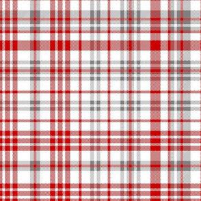 utah plaid fabric - red fabric, tartan, check, plaid fabric