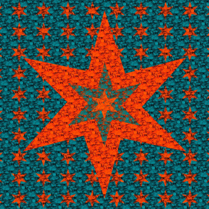 Star Quilt - Red