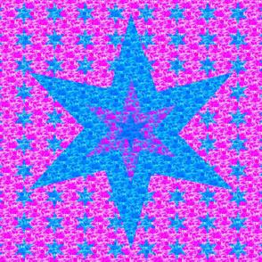Star Quilt - Purple