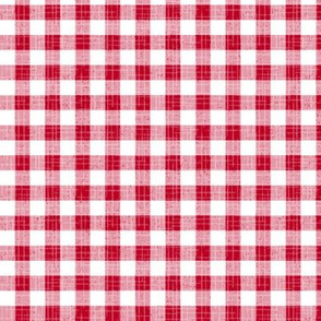 Rustic_Red Gingham_25 Size