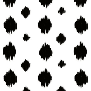 Black & White Circles - big & small