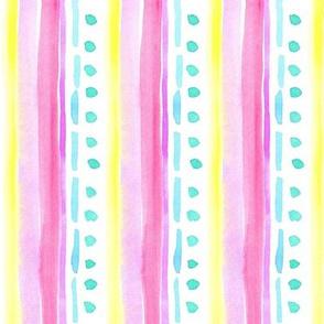 decorative stripe pink