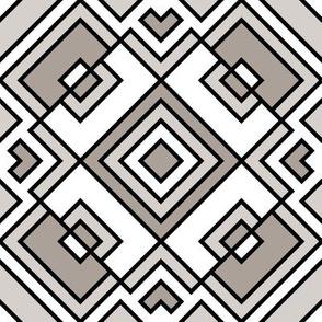 Geometric gray_041