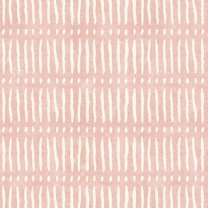 vertical dash mud cloth stripes - pink - mud cloth inspired home decor wallpaper - LAD19