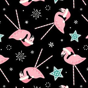 Holiday Candy Pink Flamingos ©️studioxtine
