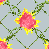 Barbed Wire Explosion Chintz-01