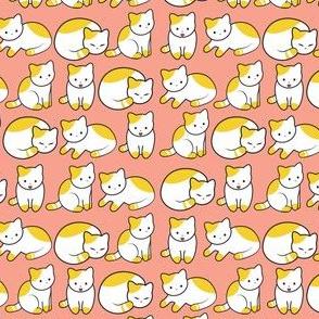Cat Pattern Pink