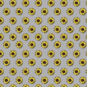 sunflower tile grey
