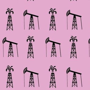 OIL RIG PINK