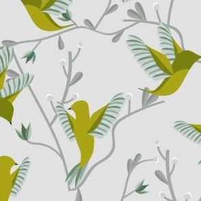 Hummingbirds | Green