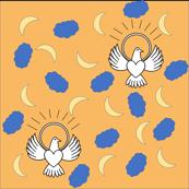 FreeBird Print Orange