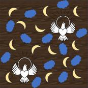 FreeBird Print Dark Wood Grain
