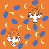 FreeBird Print Bright Orange