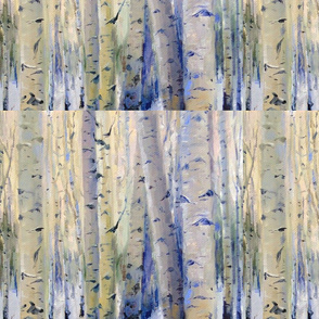 Winter Aspens sq