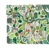 Toronto Botanical Map