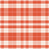 Bird in the Hat - Red Plaid