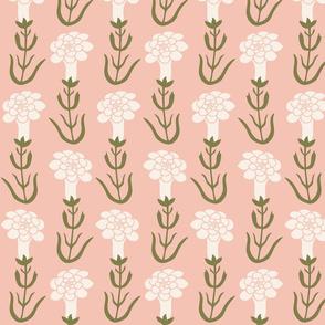 Bird in the Hat - Pink Azalea