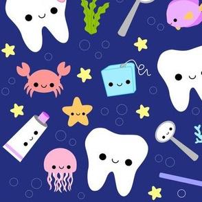 XL Ocean Teeth