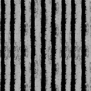 grey and black splatter stripes