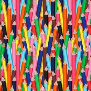 Colorful Pencils for School or Education