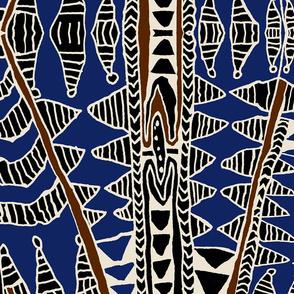 Indonesian Batik Scarf