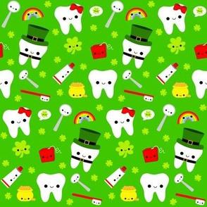 Happy St. Patrick's Day Teeth - Green