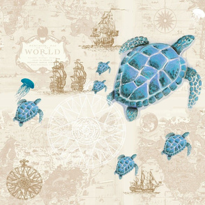 Sea Turtle Traveler