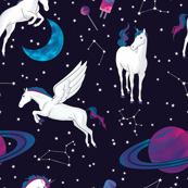 Unicorns in Saturn
