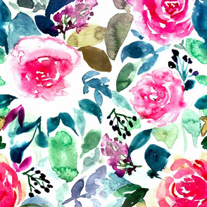 ANDALUSIA WATERCOLOR FLORAL