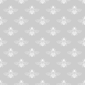 Baby Bee White Silver, Smaller