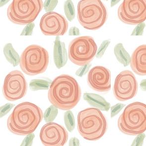 Springtime Watercolor Flowers