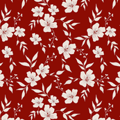 Vintage Floral | Red