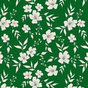 Vintage Floral | Green