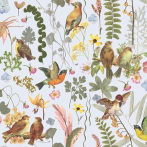 Song Bird Garden blue