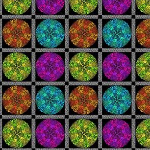 kaleidoscope quilt 8x8