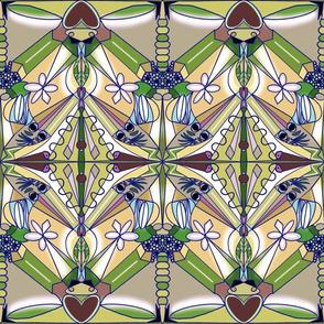 Kaleidoscope in Emerald