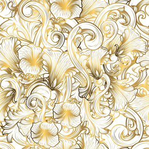 luxury background with gold