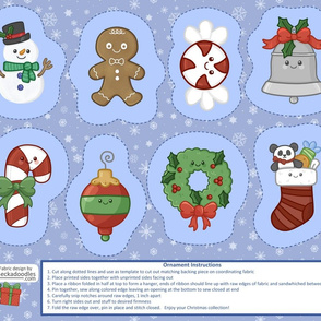 sew your own Christmas decorations