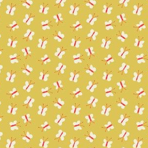 Teeny Butterflies, Red and Yellow