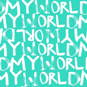 My World in Turquoise